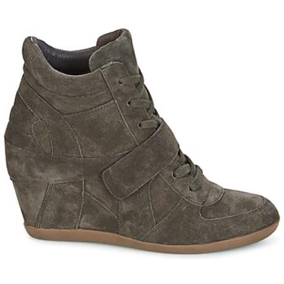 f3455b60fffa Ash Shoes - Ash Bowie Limited High Top Wedges